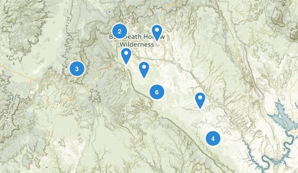 Escalante, Utah Map