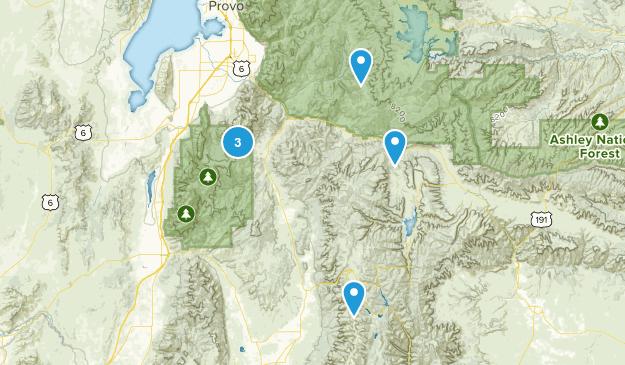 Fairview, Utah Map
