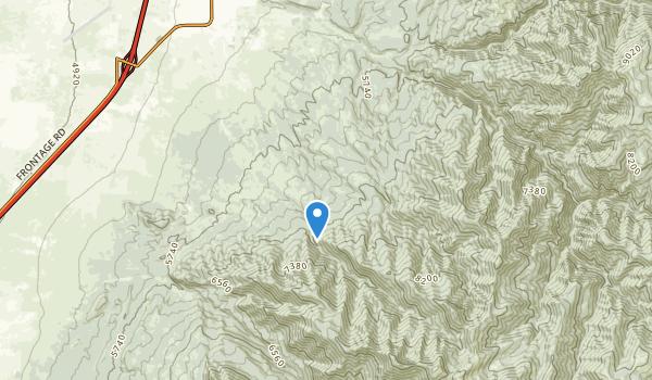 Fillmore, Utah Map