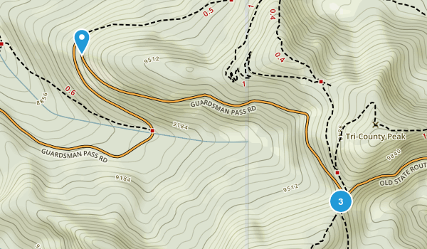 Forest Glen, Utah Map