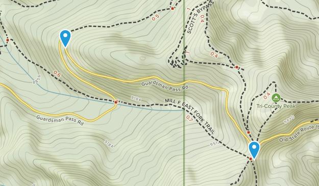 Forest Glen, Utah Map