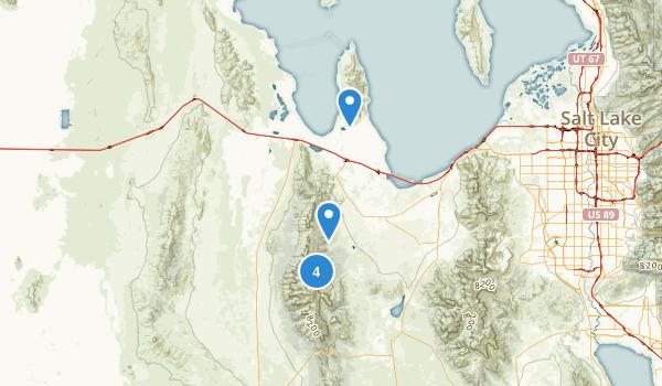 Grantsville, Utah Map