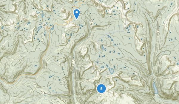 Hanna, Utah Map