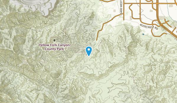 Hi Country Estates, Utah Map
