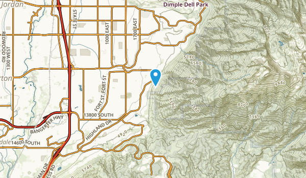 Hidden Valley Country Club Estates, Utah Map