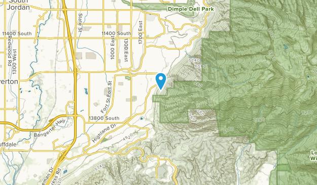 Hidden Valley Country Club Estates, Utah Map
