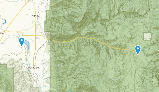 Hyrum, Utah Map