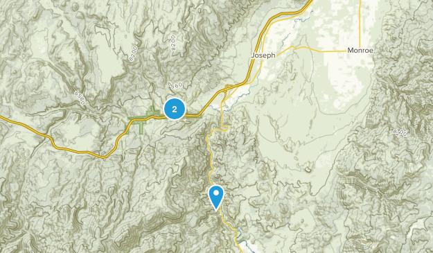 Joseph, Utah Map