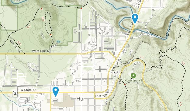 La Verkin, Utah Map