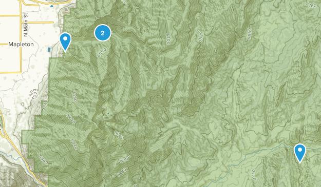 Best Trails Near Mapleton Utah Alltrails
