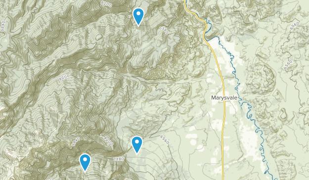 Marysvale, Utah Map