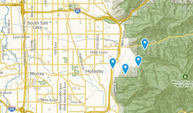 Millcreek, Utah Map