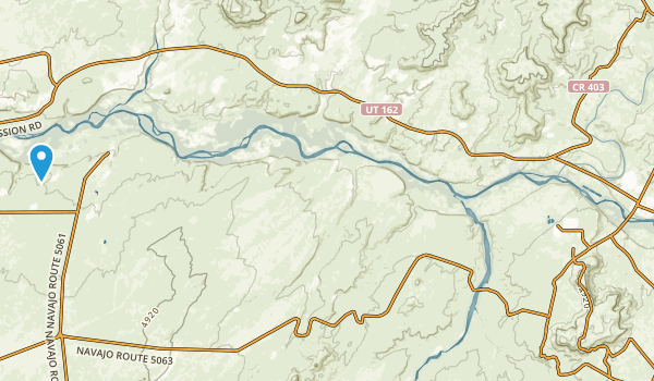 Montezuma Creek, Utah Map