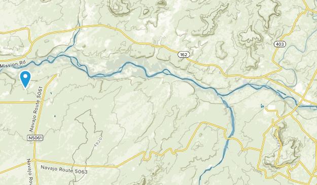 Montezuma Creek, Utah Map