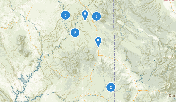 Monticello, Utah Map