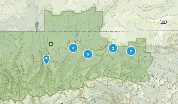 Mountain View, Utah Map
