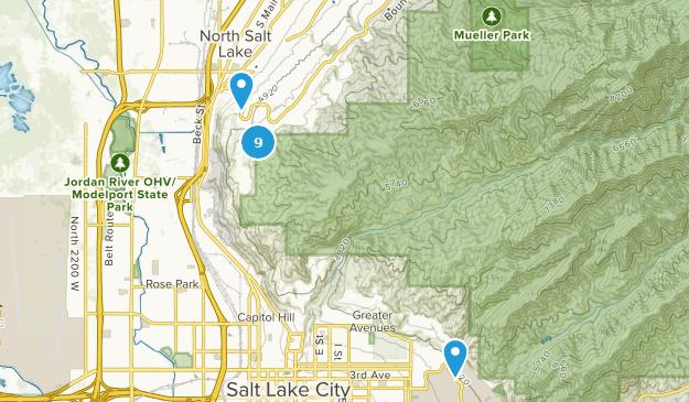 North Salt Lake, Utah Map