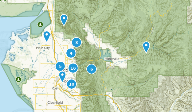 Ogden, Utah Map