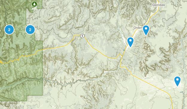Orderville, Utah Map