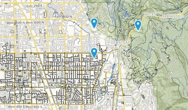 Orem, Utah Map