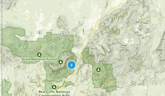 Pintura, Utah Map