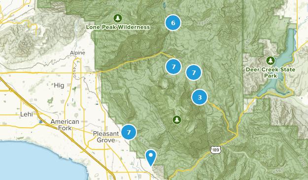 Pleasant Grove, Utah Map