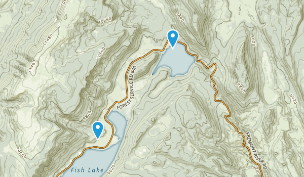 Richfield, Utah Map