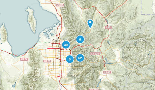 Best Trails Near Salt Lake City Utah AllTrailscom - Us map salt lake city