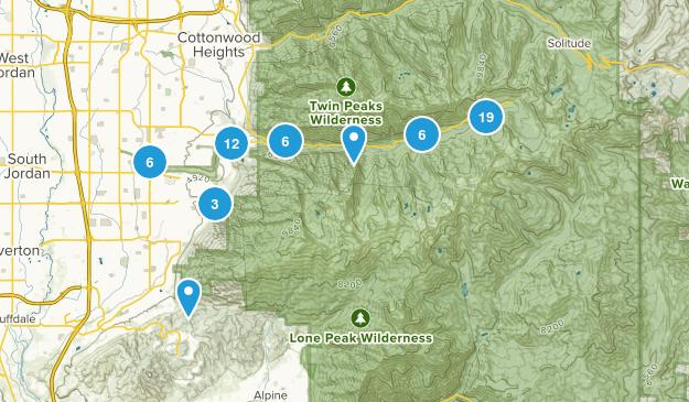 Sandy, Utah Map