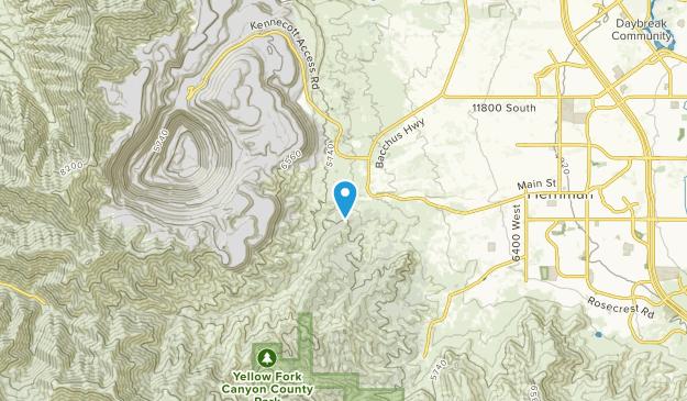 Snyder, Utah Map