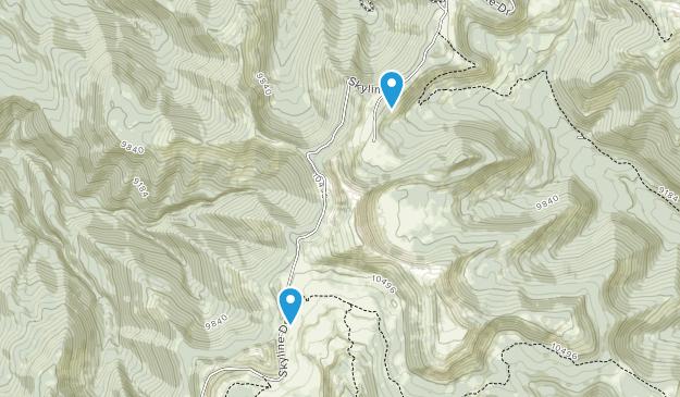 Spring City, Utah Map