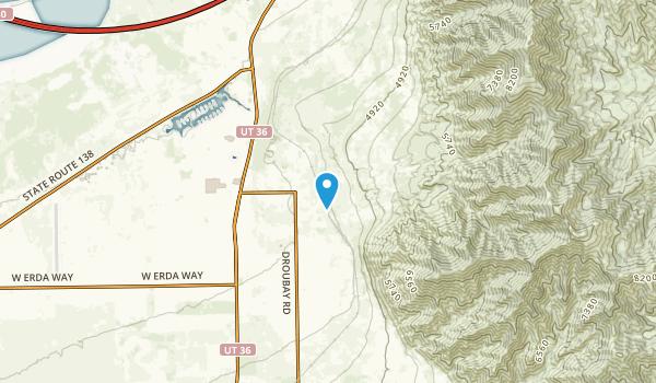 Stansbury Park, Utah Map