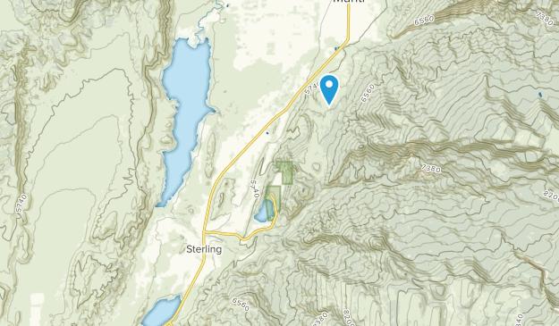 Sterling, Utah Map