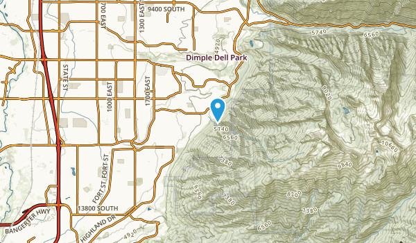 The Cove at Hidden Valley, Utah Map