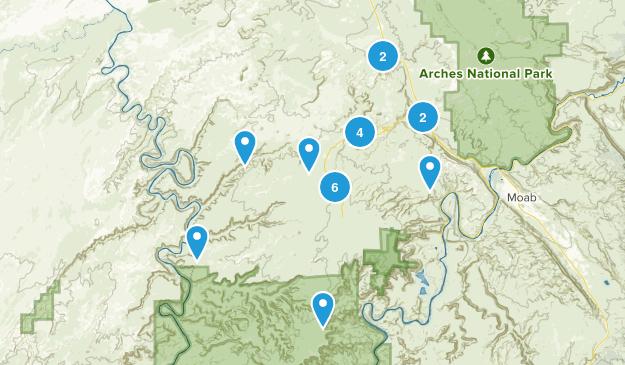Thompson Springs, Utah Map