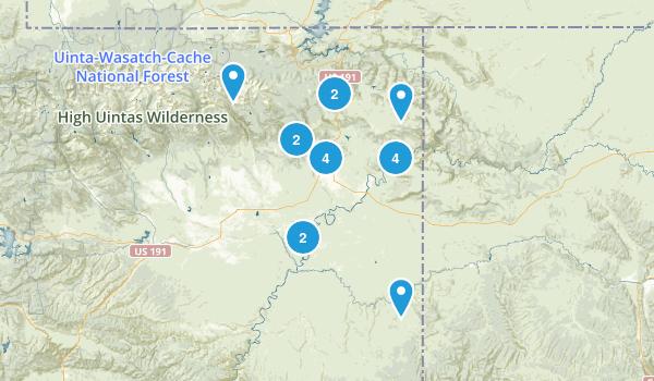 Vernal, Utah Map