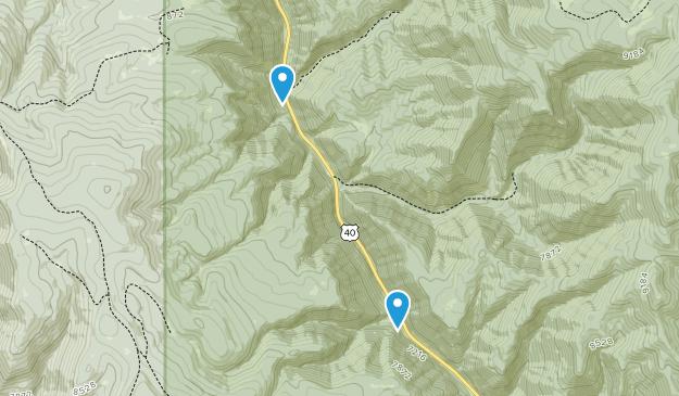 Wallsburg, Utah Map