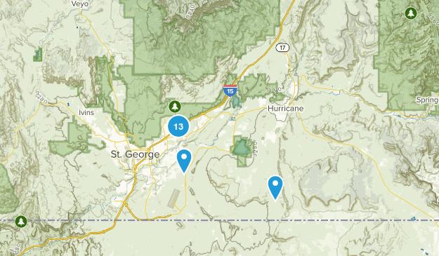 Washington, Utah Map