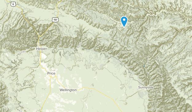 Wellington, Utah Map