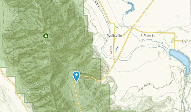 Wellsville Utah Map.Best Trails Near Wellsville Utah Alltrails