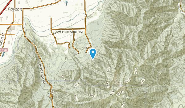 Woodland Hills, Utah Map
