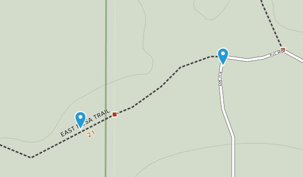 Zion Lodge, Utah Map