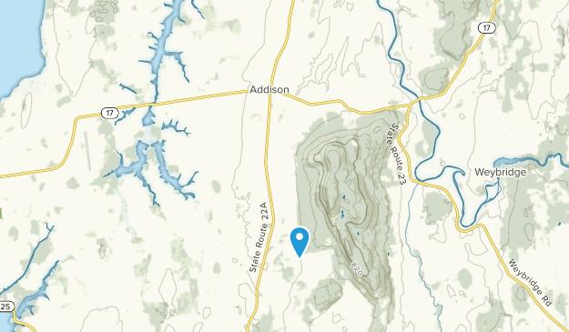 Addison, Vermont Map