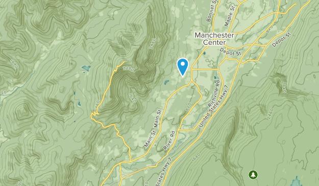 Arlington, Vermont Map