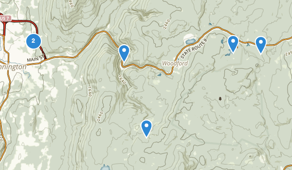Bennington, Vermont Map