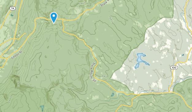 Bondville, Vermont Map