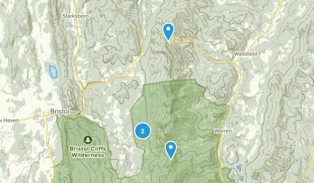 Bristol, Vermont Map