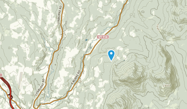 Burke, Vermont Map