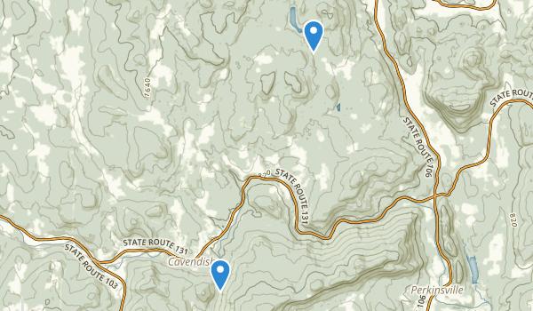 Cavendish, Vermont Map