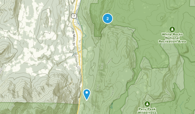 Danby, Vermont Map